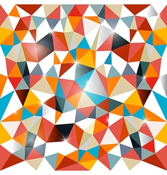 Abstract Vecor Triangle Background vector image