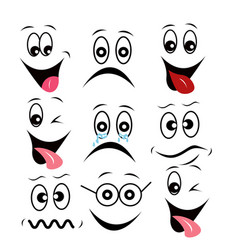 basic emotions concept vector image