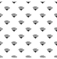 Color palette pattern simple style vector
