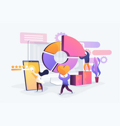 Digital marketing strategy concept vector