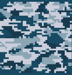 digital pixel camouflage vector image