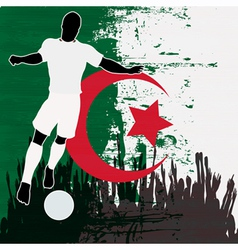 Football Algeria vector