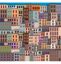 old city vector image