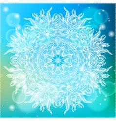 Ornamental of a mandala vector image