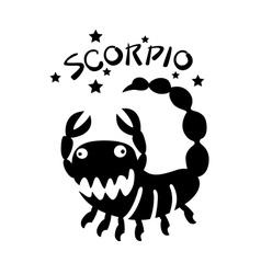 Scorpio vector image