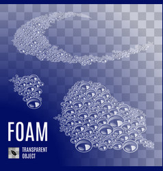 Seamless soap-foam vector