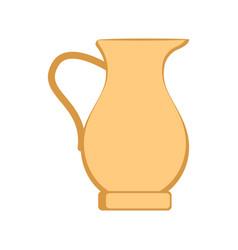 traditional juice jar icon vector image