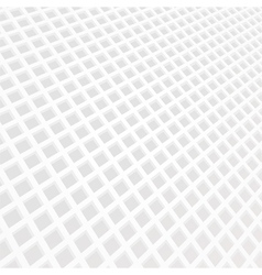 White mosaic grid background vector