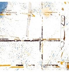 Yellow Random Texture vector image