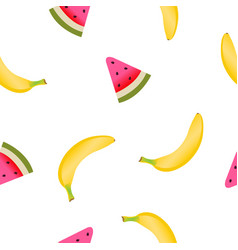 Fruits pattern vector