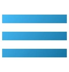 Menu Lines Gradient Icon vector