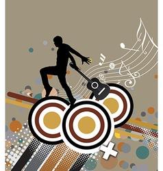 Music theme vector