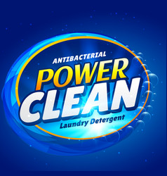 Soap and launry detergent cleaner product vector