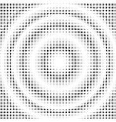 abstract halftone circles gradient dotted vector image