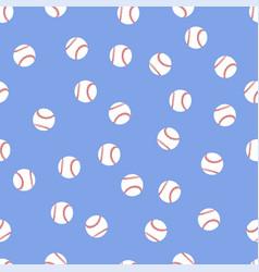 background of baseball balls vector image vector image