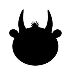 Bull animal icon image vector