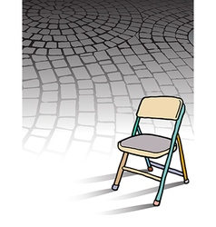 Cobble Stones Chair vector