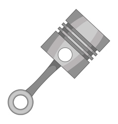 Piston icon cartoon style vector image