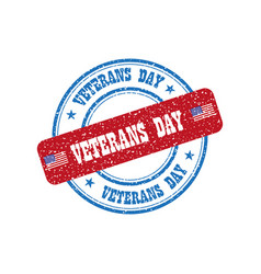 sign veterans day on background vector image