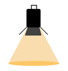 club light icon vector image