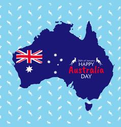 26 january happy australia day eps10 vector