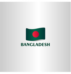 Bangladesh flag template design vector