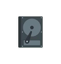 CD rom icon flat style vector image