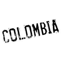 Colombia stamp rubber grunge vector
