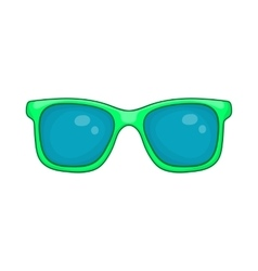 Glasses icon cartoon style vector image