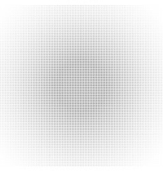 Halftone circle dot pattern black abstract vector