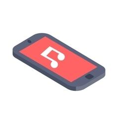 Isometric phone flat design vector