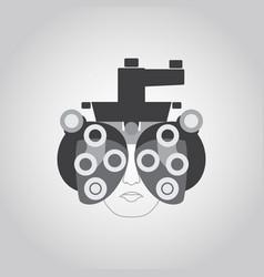 Phoropter logo vector