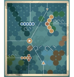 Retro vintage abstract background with vector