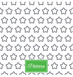 Stars stripped geometric seamless pattern vector