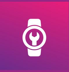 Watch repair icon vector