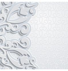 Grey backgound vector image vector image
