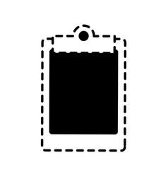 writing board vector image