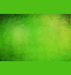 Abstract polygon background light green polygonal vector