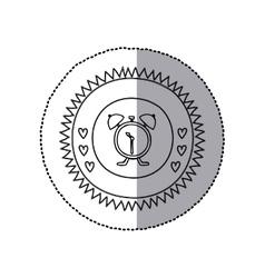 Bell alarm clock vector