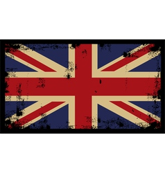 Grunge British Background 2 vector image