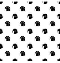 Hexagonal tent pattern seamless vector