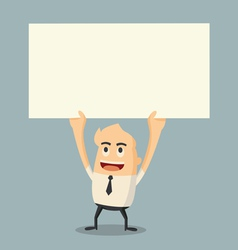 holding paper vector image