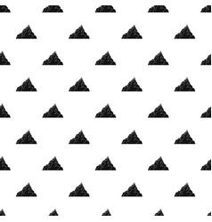 Iceberg pattern vector