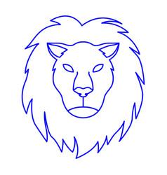 Lion as leo vector