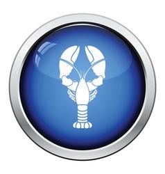 Lobster icon vector image