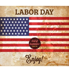 Rustic Labour Day Background vector