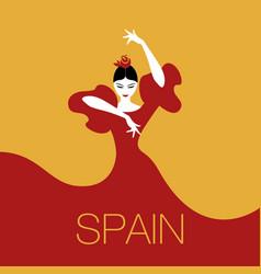 Spanish dancer logo-01 vector