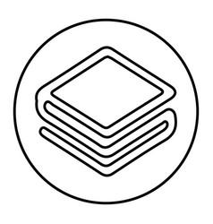 Stratis standart icon for internet money vector