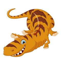Tyrannosaurus cartoon vector
