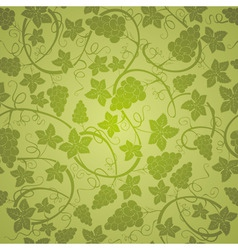 vine seamless background vector image